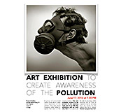 Monique Harbers Art Exhibition for Awareness of Pollution